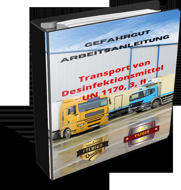 Gefahrgut-Anleitung Transport von Desinfektionsmitteln