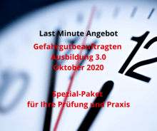 Gefahrgutbeauftragten-Ausbildung-Okt-2020-Last Minute