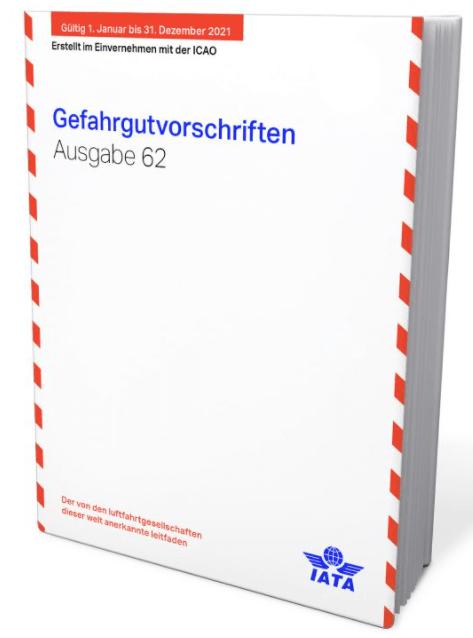 IATA DGR 62.Ausgabe-2021