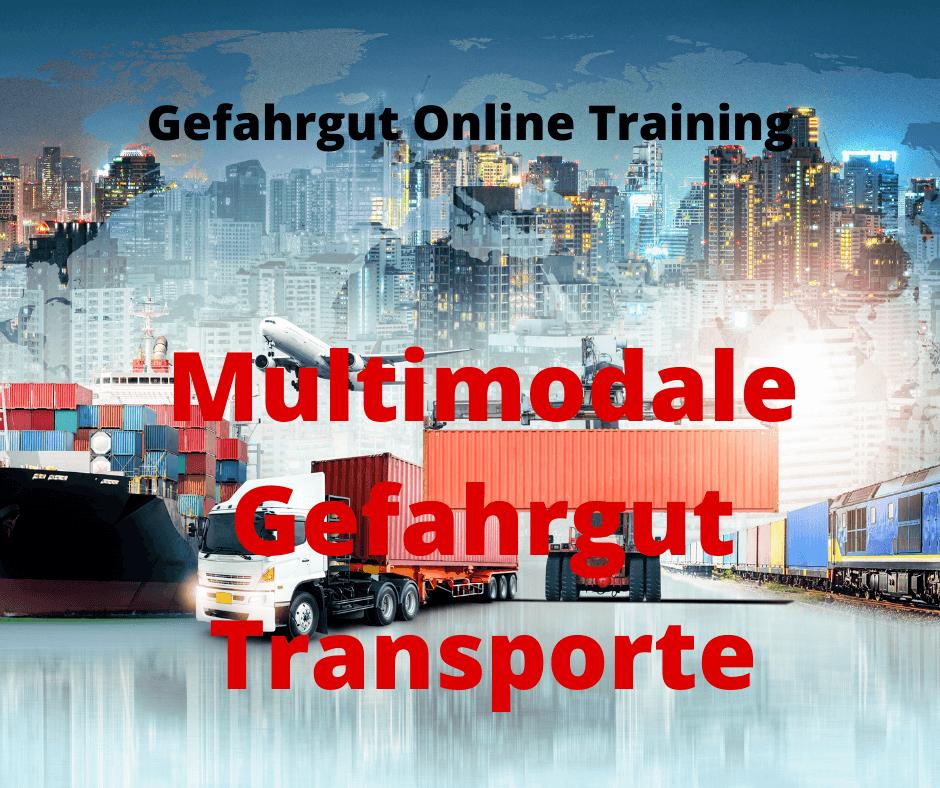 Gefahrgut Online Training Multimodale Gefahrguttransporte